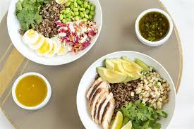 need new healthy lunch ideas try our diy power bowl recipes today