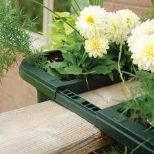 Rail Hanging Planters by Adjustable Railing Planters Railing U0026 Hanging Planters