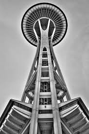 the seattle space needle ii photograph by david patterson