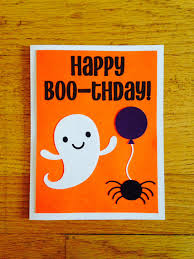 Happy Birthday Halloween Pictures Happy Birthday Card Happy Boo Thday Halloween