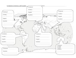 United States Map With Latitude And Longitude Printable by 5 Themes Of Geography Worksheet Google Search 7th Grade