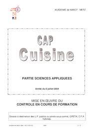 vae cap cuisine modele de livret 1 vae cap cuisine pdf notice manuel d utilisation