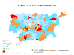 Maps Dallas by Texas Teen Birth Rate Maps By Metro Area Prevention Research Center