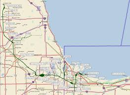 Train Map Chicago by Indiana Harbor Belt Railroad Archive Maps