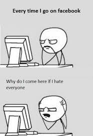 Meme Facebook - every time i go on facebook facebook meme