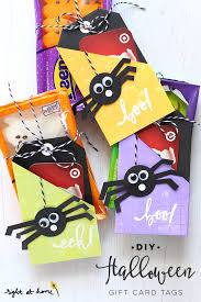 diy halloween gift card tags eighteen25