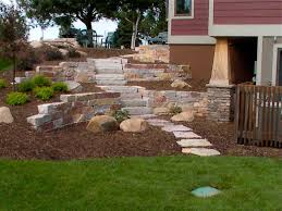 retaining walls u0026 stairs ground breakers landscape design