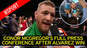 conor mcgregor offered route into wwe by triple h after historic