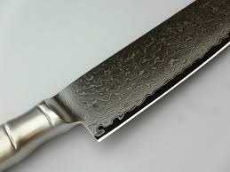 Tamahagane Kitchen Knives Brieto Tamahagane Kyoto Damast Tkt 1115 Santoku Universeel Mes