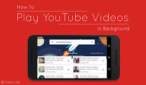 in background android how to play in background on any android no root