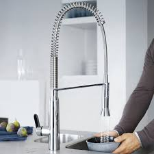Grohe K4 Kitchen Faucet by K7 Semi Pro Single Handle Pull Out Kitchen Faucet Touch On