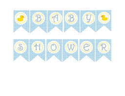 appealing free printable baby shower banners 19 in unique boy baby