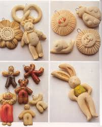 salt dough ornaments easy and cheap to do at home with the