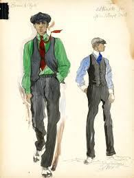 theadora van runkle the academy how to dress bonnie and clyde costume design