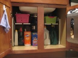 alejandra organization kitchen organization organized under the kitchen sink and added a