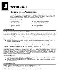 Sample Of General Resume by General Ledger Accountant Resume Sample 7917