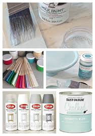 chalk paint milk paint and specialty paints differences