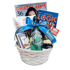 get well soon gift basket get well soon gift basket with magazine my baskets toronto