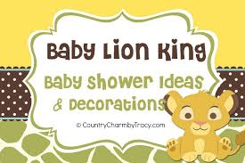 lion king baby shower supplies baby lion king shower and mini cake table decoration