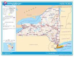 Map Of Albany New York by Large Detailed Map Of New York State New York State Large