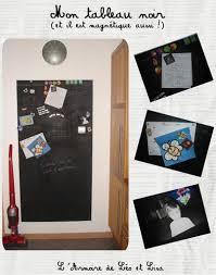 tableau magn騁ique cuisine mon tableau noir et magnétique aussi déco maison l armoire