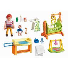 playmobil chambre b chambre de bébé playmobil 5304 jouets activités créatives la