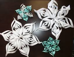 paper zone inspire design create 3d snowflake pattern