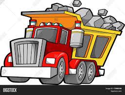 dump truck vector illustration vector u0026 photo bigstock