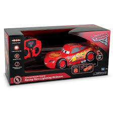 Remote Controlled Lights Disney Pixar Cars 3 Lightning Mcqueen With Voice And Light Up