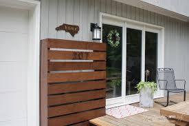 Exterior Utility Doors Remodelaholic Diy Wood Screen To Hide Utility Boxes
