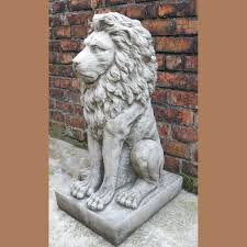 Outdoor Lion Statue by Lion Statues Archives Onefold Uk
