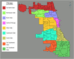 Map Of The Loop Chicago by Neighborhoods