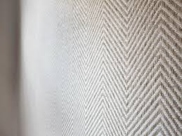 Gray Grasscloth Wallpaper by Grass Cloth Wallpaper In Chevron Pattern In Contemporary Nursery