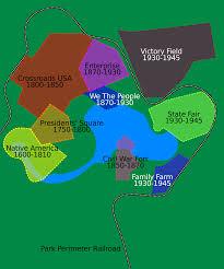 Disney World Park Maps by File Disney U0027s America Park Map Svg Wikimedia Commons
