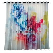 Colorful Patterned Curtains Colorful Patterned Unique Funky Living Room Curtains Buy Colorful
