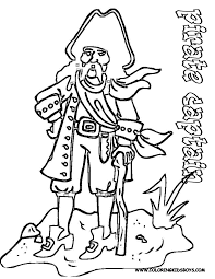 pirate pictures to color