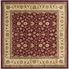 Safavieh Lyndhurst Collection Shop Safavieh Lyndhurst Qum Red Ivory Square Indoor Oriental Area
