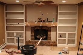 Fireplace Surround Bookshelves 42 Built In Bookcase Around Fireplace 17 Best Images About