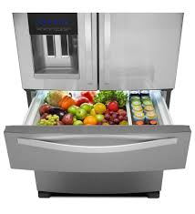 Whirlpool French Door Counter Depth Whirlpool 24 51 Cu Ft French Door Refrigerator Stainless Steel