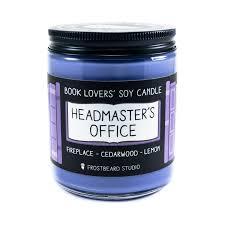 headmaster u0027s office 8 oz candle frostbeard studio