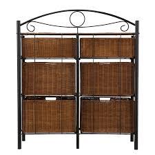 wicker room divider wicker 6 drawer storage chest kitchen u0026 dining