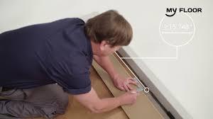 Tarkett Laminate Flooring Problems How To Install Click Lock Laminate Flooring Youtube