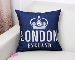 Blue Union Jack Cushion High Quality Union Hotels Promotion Shop For High Quality