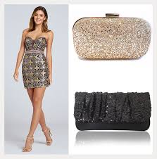 glitter dresses for new years shimmery dresses clutch bags for new years mon cheri bridals
