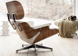 vitra eames lounge chair classic white leather