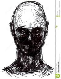set of zombies heads stock illustration image 42443542