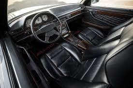 1986 mercedes 560 sec mercedes 560 sec amg the 80s blue chip collectible