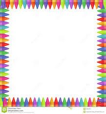 crayon border stock image image 32869951