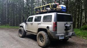 gobi jeep h3 roof racks baskets and lighting