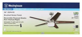 5 blade ceiling fan with light westinghouse lighting 56 zephyr 5 blade ceiling fan with remote
